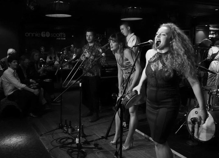 Louise Balkwill with The Old Jelly Rollers at Ronnie Scott's - Photography by Mark Adri-Soejoko.jpg