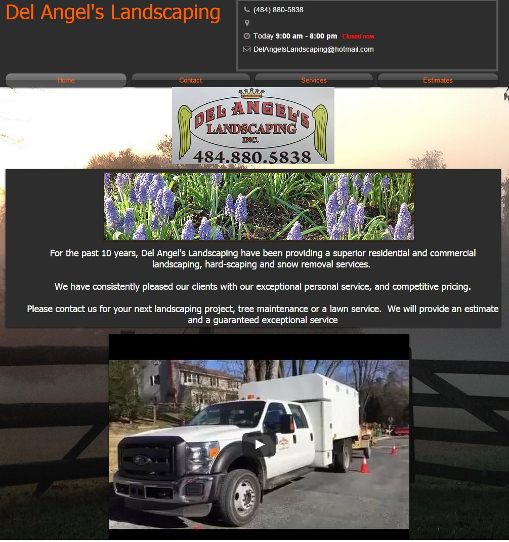 Del Angels Landscaping - Coatsville PA