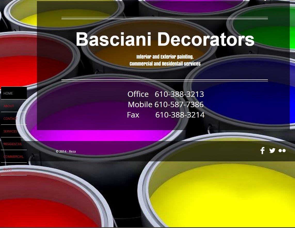 Basciani Decorators