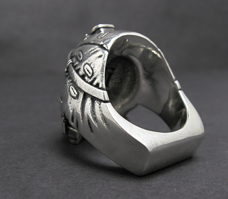 Grunt ring silver