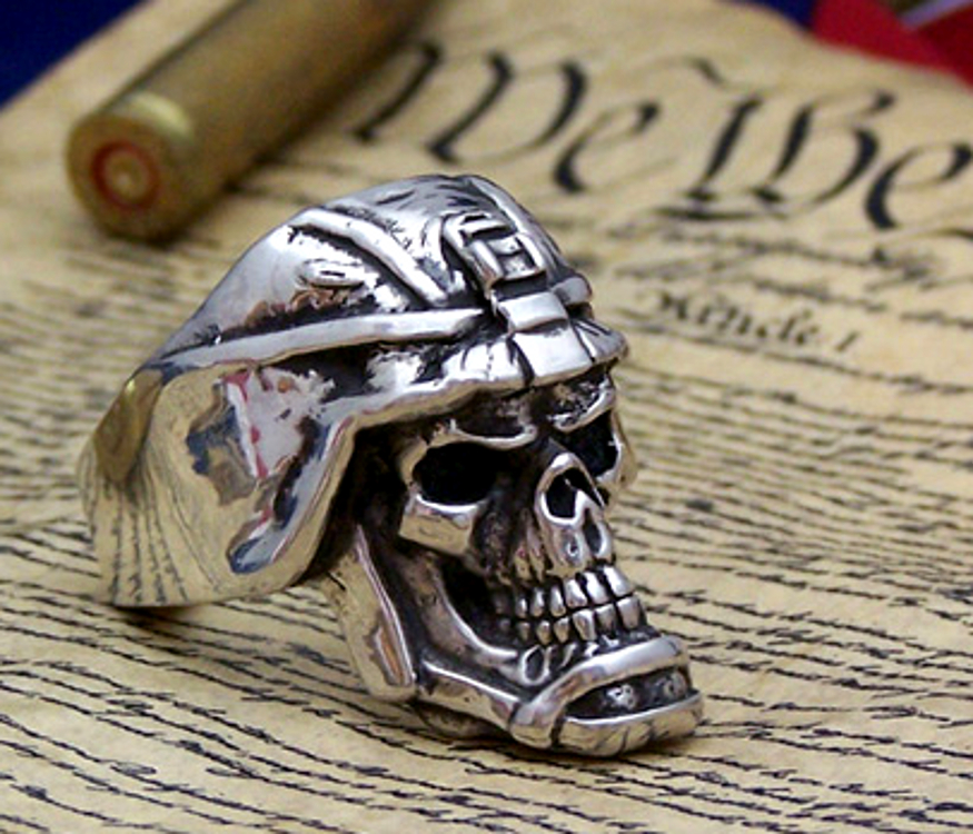Patriot Ring Silver
