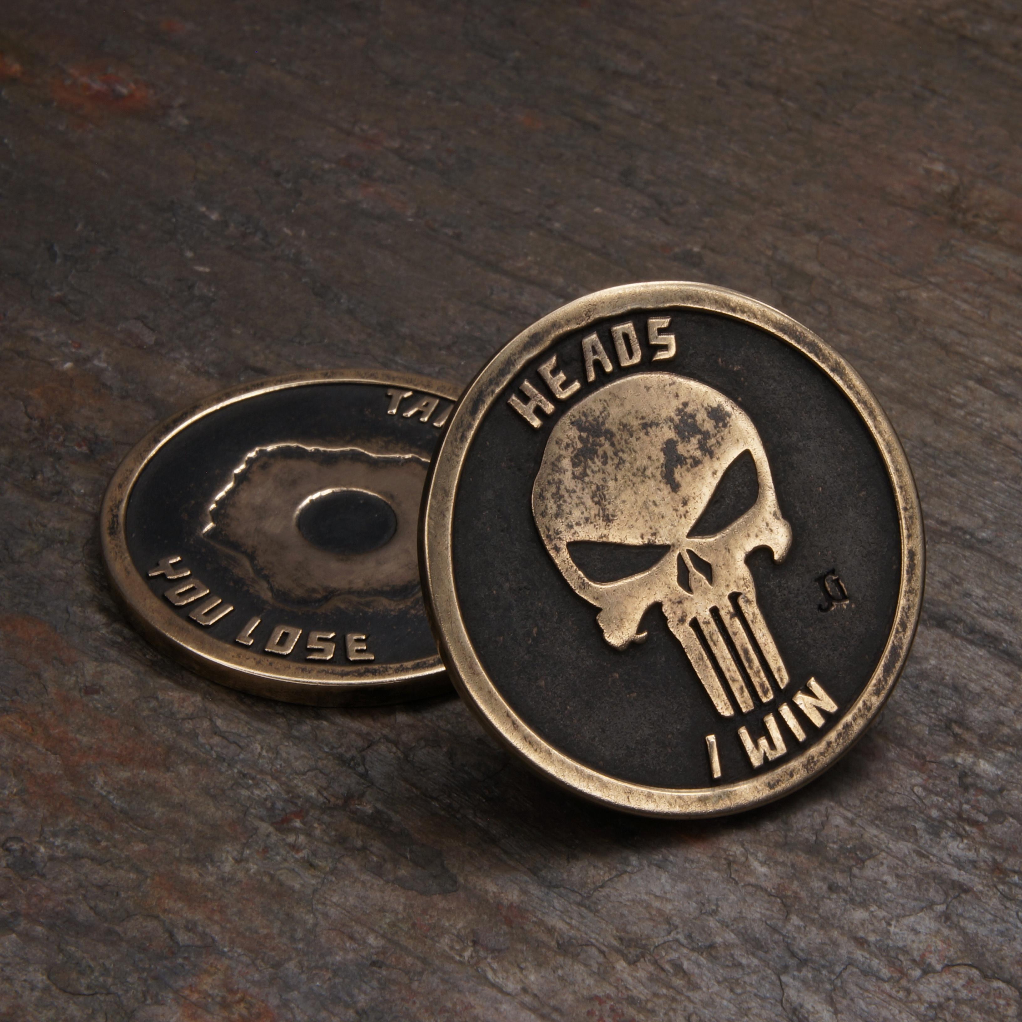 Punisher Challenge coin bronze