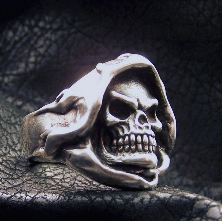 Reaper Ring Silver
