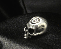 Dervish Silver Skull