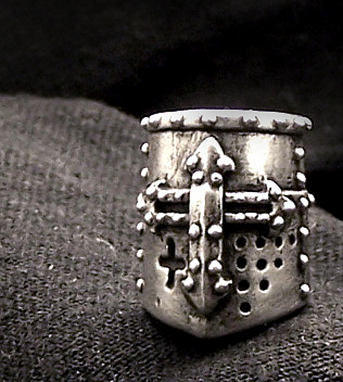 Crusader Helm Silver