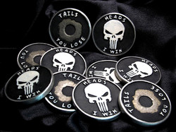 Special Edition Punisher Challenge coins