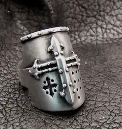 Crusader Helm ring