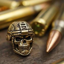 Grunt Bead brass