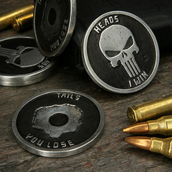 Punisher Challenge coin pewter