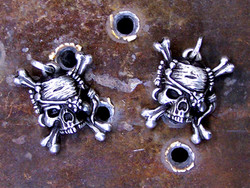 Scurvy Dog Silver Pendant
