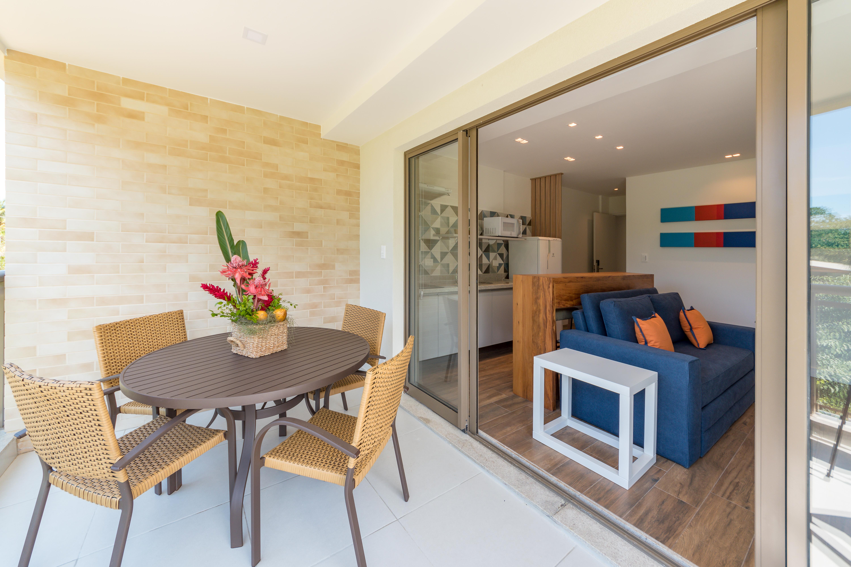 Apartamento lateral - varanda