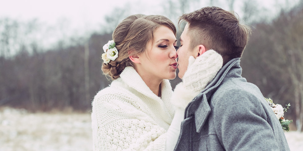 Stunning winter rustic wedding, by Xenia Helix Photography