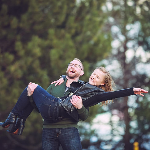 Engagement session in Piers Park, Boston