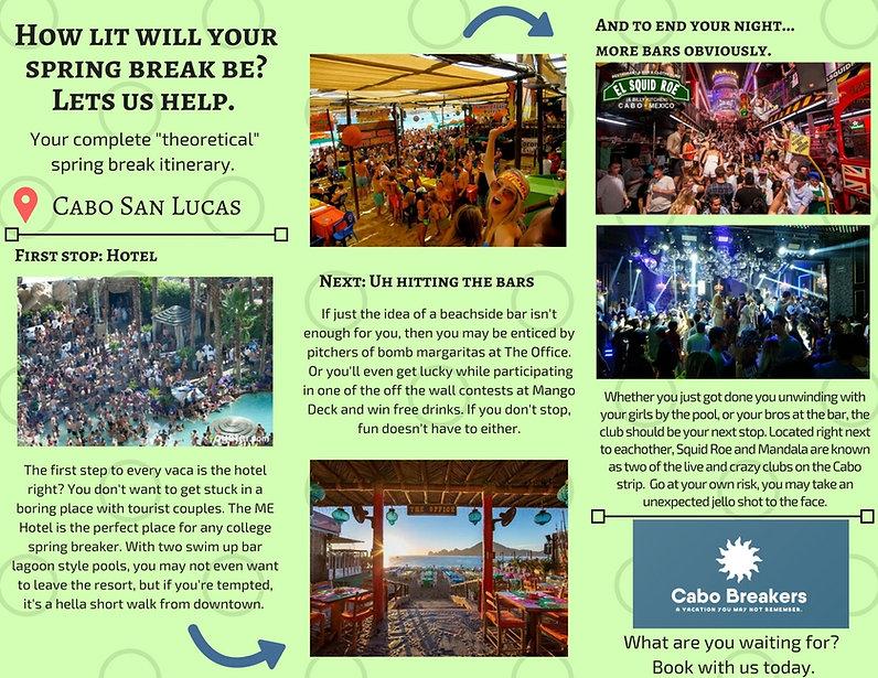 Cabo Breakers Brochure