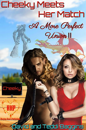 Cheeky Meets Her Match [A More Perfect Union 2] by David Baggins, Teddi Baggins