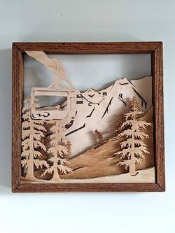 Custom wood art
