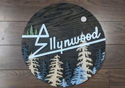 Ellynwood Custom Logo Sign