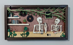 Two Skeletons Walk Into a Bar...