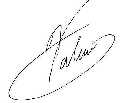Valerie Terranova signature