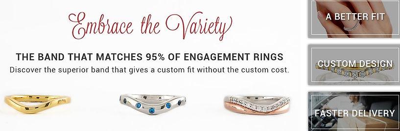 custom wedding bands, jewelry store, houma, thibodaux, LA