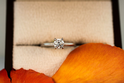 3/4 Carat Solitaire Engagement Ring