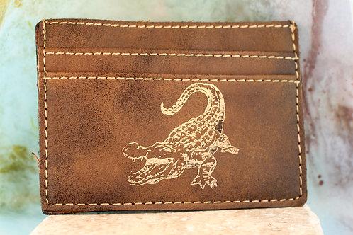 Rustic Wallet Clip