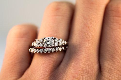 Delicate Diamond Wedding Set