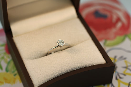 Simply Solitaire Diamond Ring