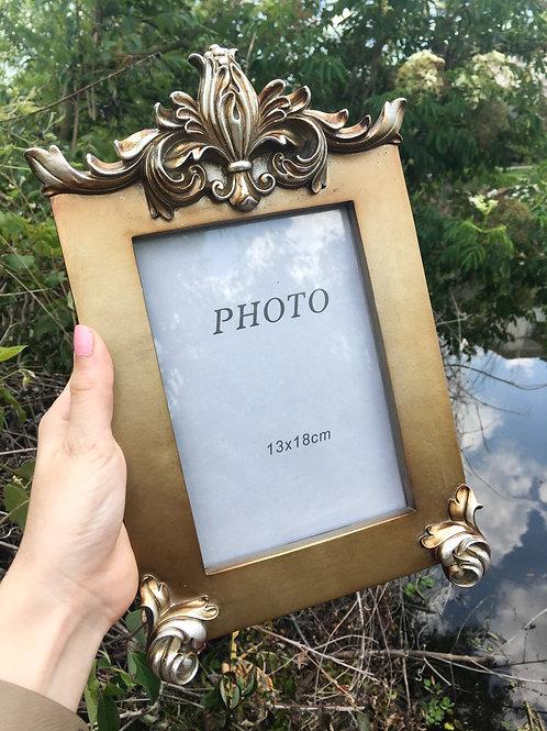 Fleur de Lis Picture Frame