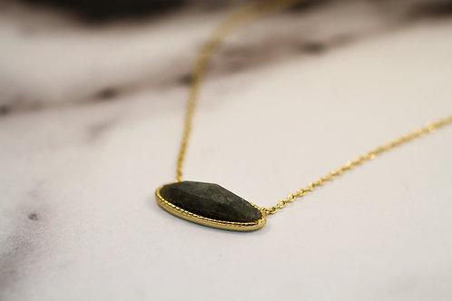 Labradorite Oval Necklace