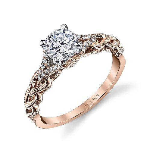 Rebel Hearts Engagement Ring