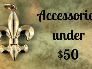 Accessorizing: $50 and Under