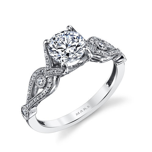 Grand Estates Antique Engagement Ring