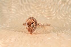 Morganite Custom Engagement Ring