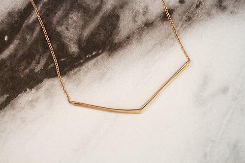 Chevron Bar Necklace