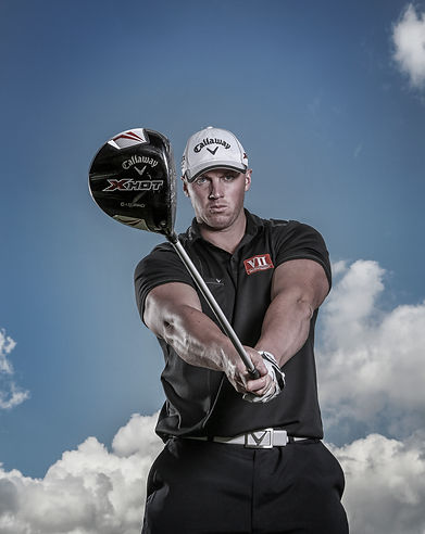 Joe Miller Logo golf, golfer, long drive, champion, world, body building, callaway, uk, muscles, power, pro, about, measurement, size, weight, age, swing speed, ball speed