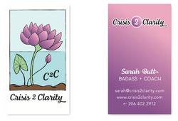 C2C Business card