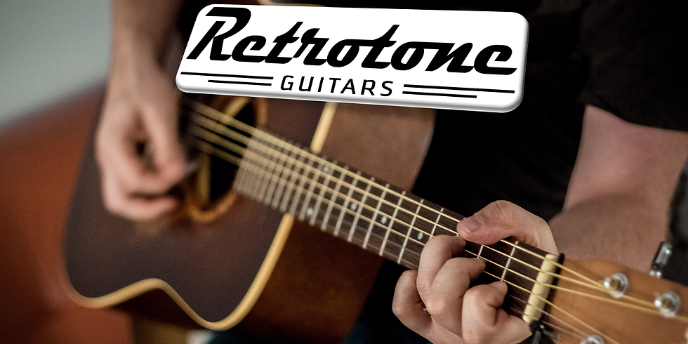 Retrotone Guitars Open Jam May 15