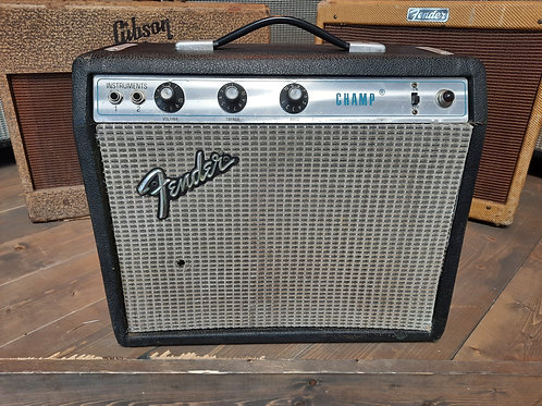 1973 Fender Champ Silverface