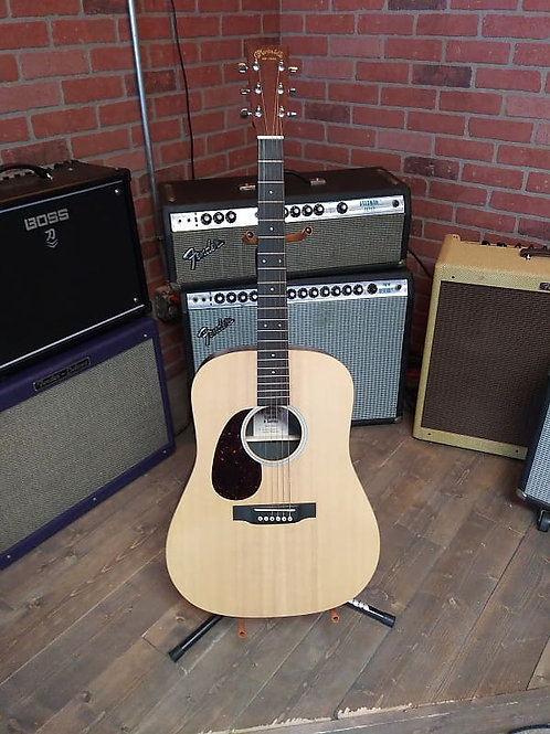 Martin 2015 Left Handed X Series Acoustic Electric 2015 Satin Natural