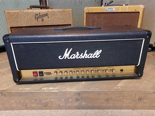 Marshall DSL100HR 2-Channel 100 Watt tube Guitar Amp W/Foot switch