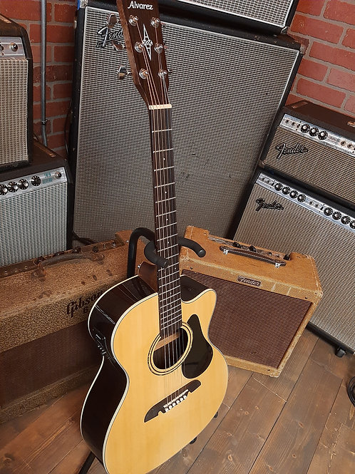 Early 2000's Alvarez RF27CE Acoustic Electric Natural Gloss