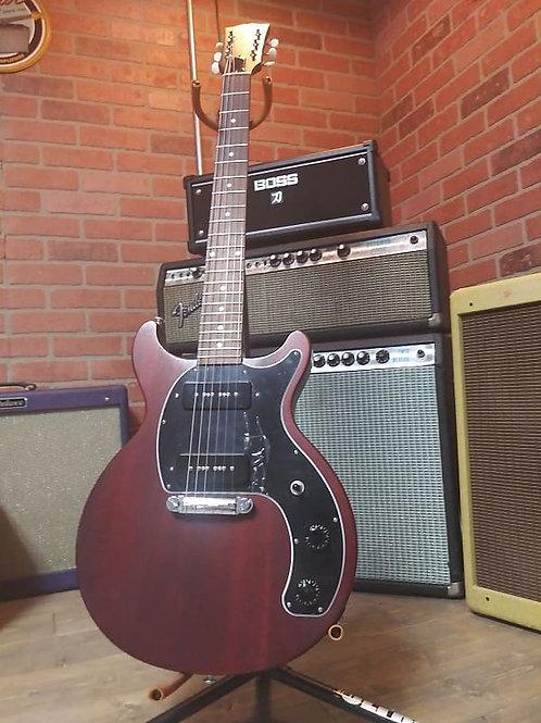 2019 Gibson Les Paul Jr. DC Tribute Double Cut Away Satin Cherry