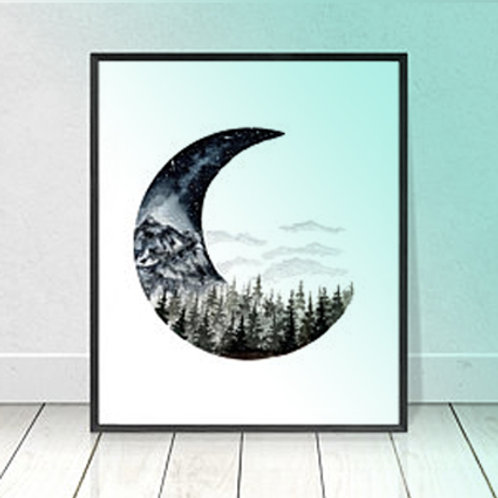 Moon in Frame
