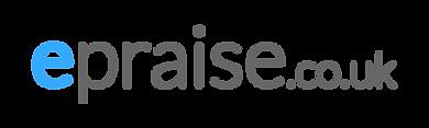 epraise logo_rectangle_transparent_light