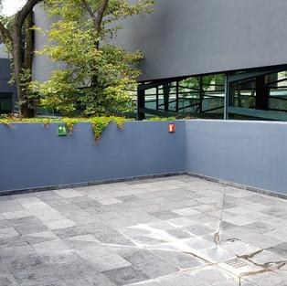 Terraza sala de juntas