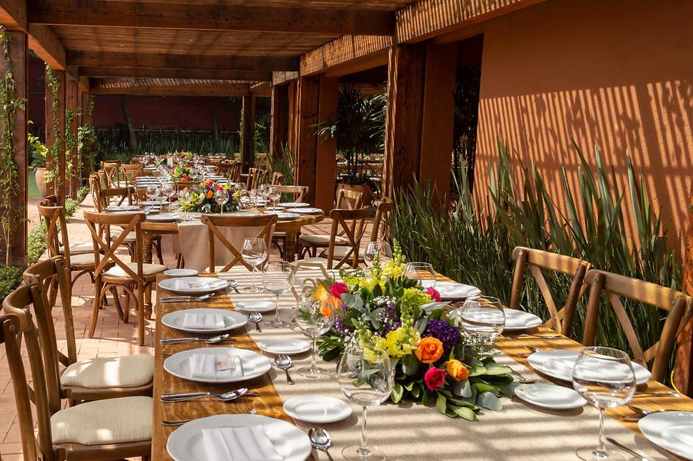 Jardines para eventos: Casa Xipe by Keyboo