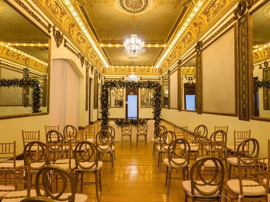 Boda Civil Palacio Metropolitano