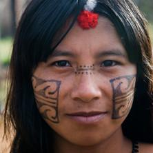 Durazu Yudja adorned for a ceremony