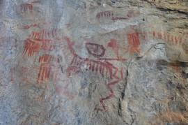 Arte Rupestre, Caverna Pau Pombo